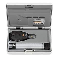 Trousse ophtalmoscope Beta 200 + manche à piles heine