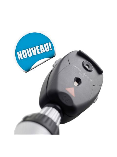 tête d'ophtalmoscope led beta 200S (3.5V) Heine Vidéré
